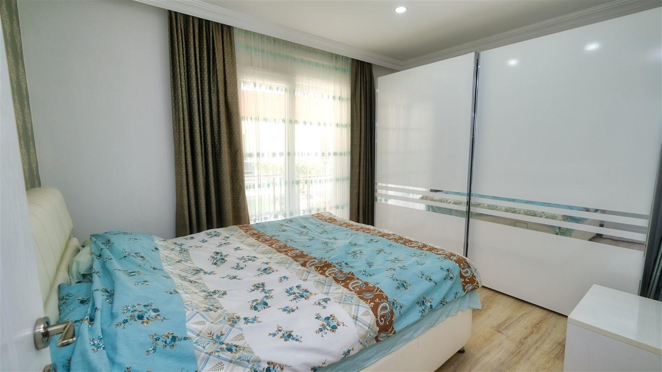 Двухкомнатная квартира с мебелью в элитном комплексе района Коньяалты - Фото 37