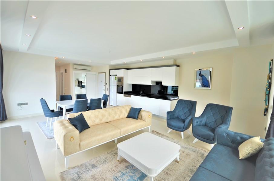 Меблированная квартира 2+1 с видом на Средиземное море - Фото 28