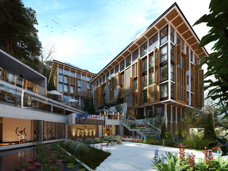 Новый комплекс с видом на пролив Босфор - Фото 1