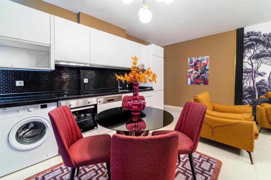 Уютная меблированная квартира 1+1 в роскошном жилом комплексе с инфраструктурой - Фото 27