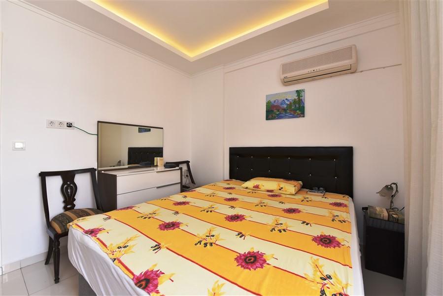 Меблированная квартира 2+1 у пляжа Клеопатры в Аланье - Фото 8