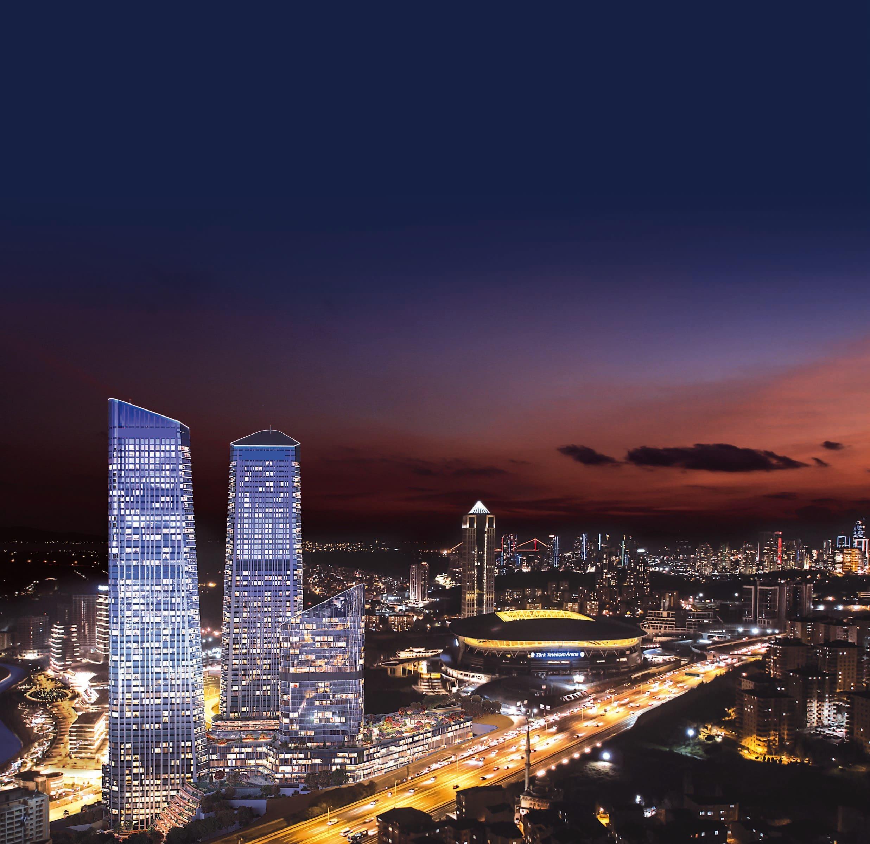 Готовые квартиры в рассрочку в районе Сарыер Стамбул - Фото 2