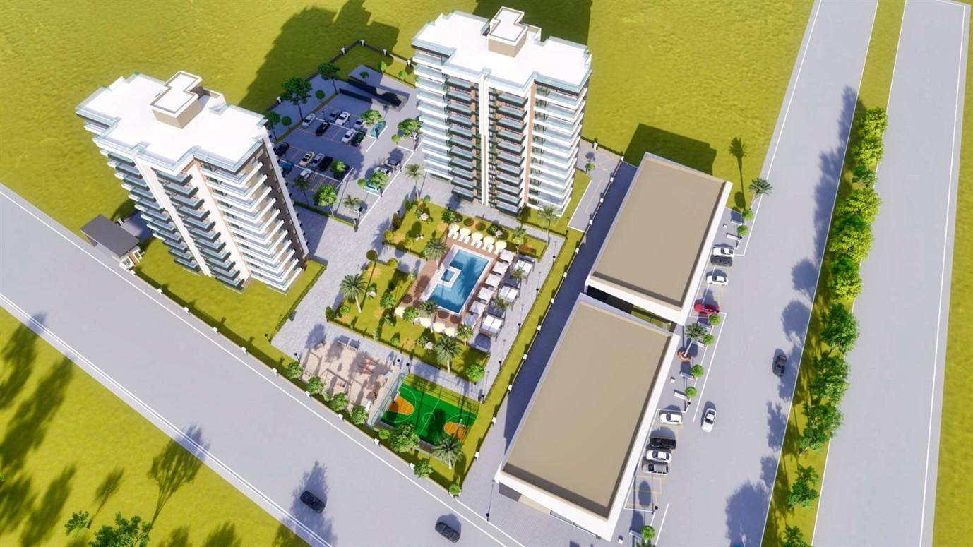 Квартиры в строящемся жилом комплексе в микрорайоне Алтынташ - Фото 2