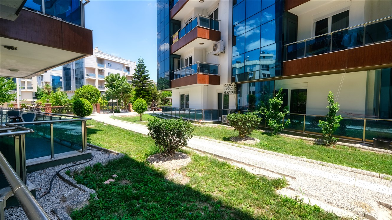 Двухкомнатная квартира с мебелью в элитном комплексе района Коньяалты - Фото 33