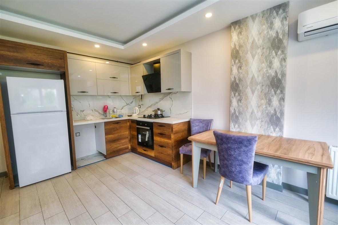Меблированная квартира 1+1 в Анталье - Фото 17