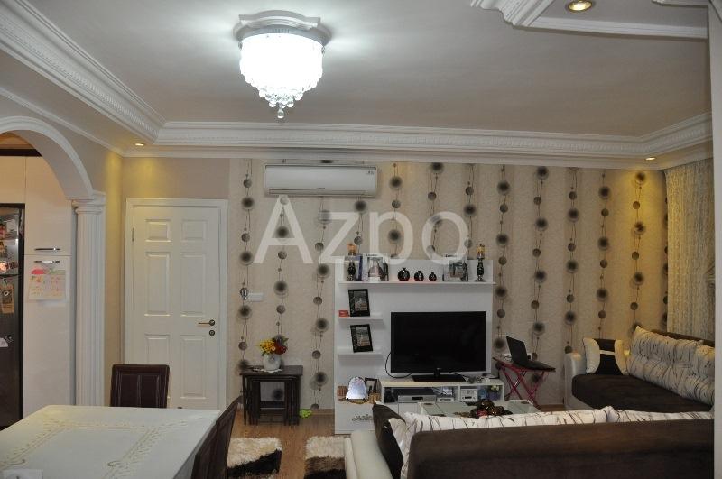 Трехкомнатная меблированная квартира в центре Аланьи - Фото 15