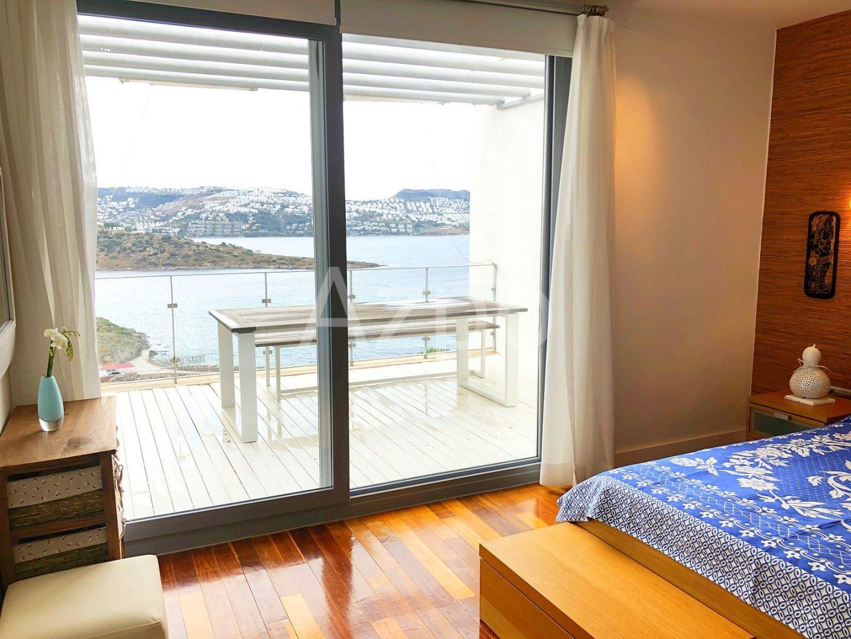 Квартира с панорамным видом на море в Бодруме - Фото 9
