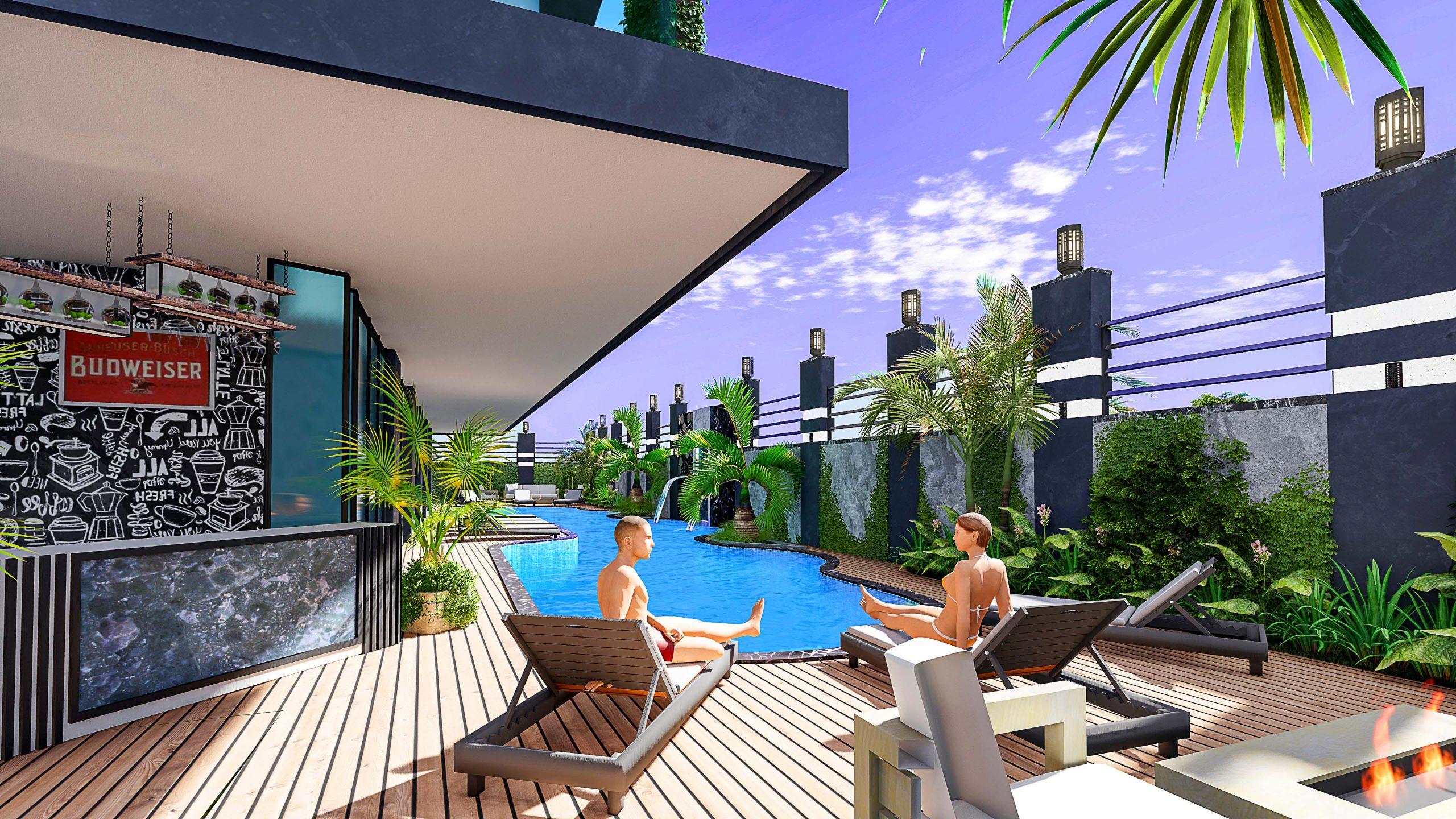 Новые квартиры в центральном районе Аланьи - Фото 3