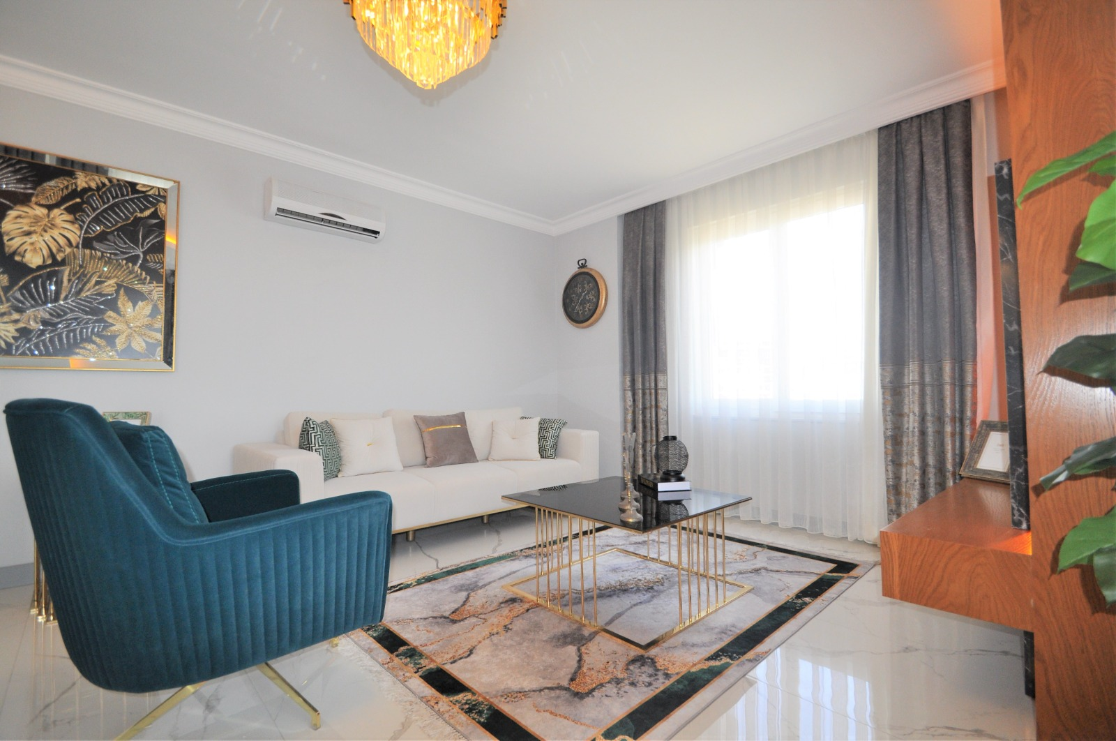 Просторная трёхкомнатная квартира с мебелью в Тосмуре - Фото 15