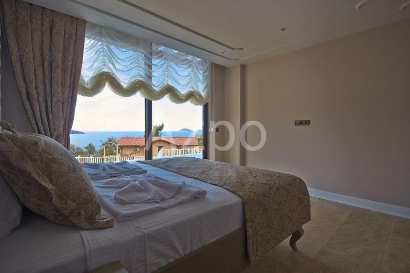 Шикарная частная вилла 4+1 с видом на море Калкан - Фото 18