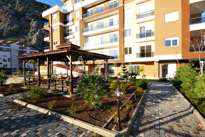 Квартира 1+1 у подножья Торосских гор в Коньяалты Анталия - Фото 8