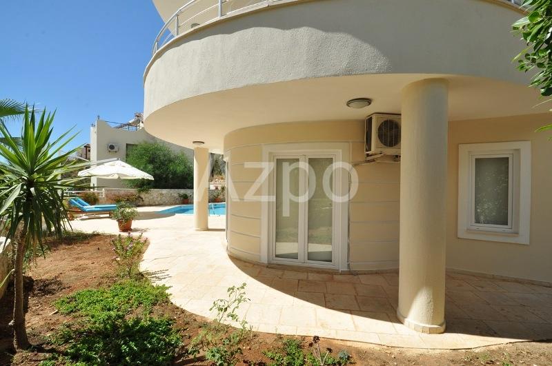 Меблированная вилла 3+1 с видом на море на курорте Калкан - Фото 5