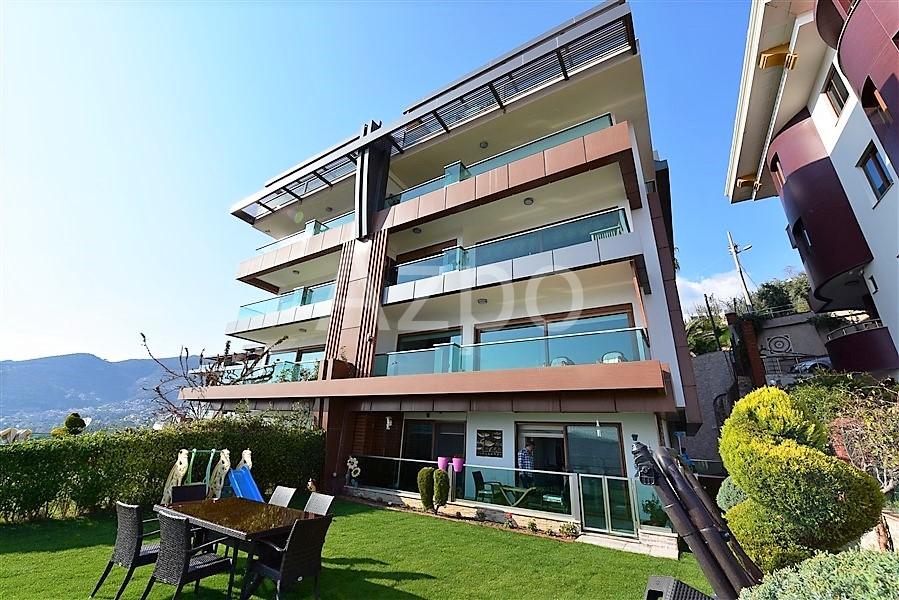 Квартира 5+1 с выходом в сад в центре Аланьи - Фото 7