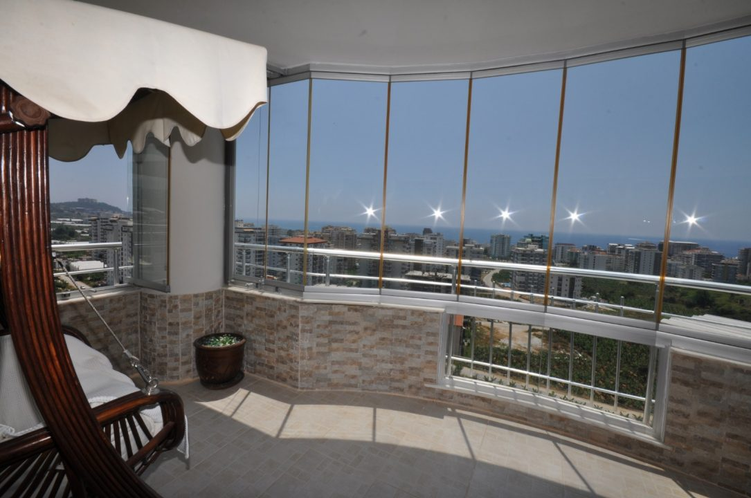 Меблированная квартира 2+1 с видом на море - Фото 21