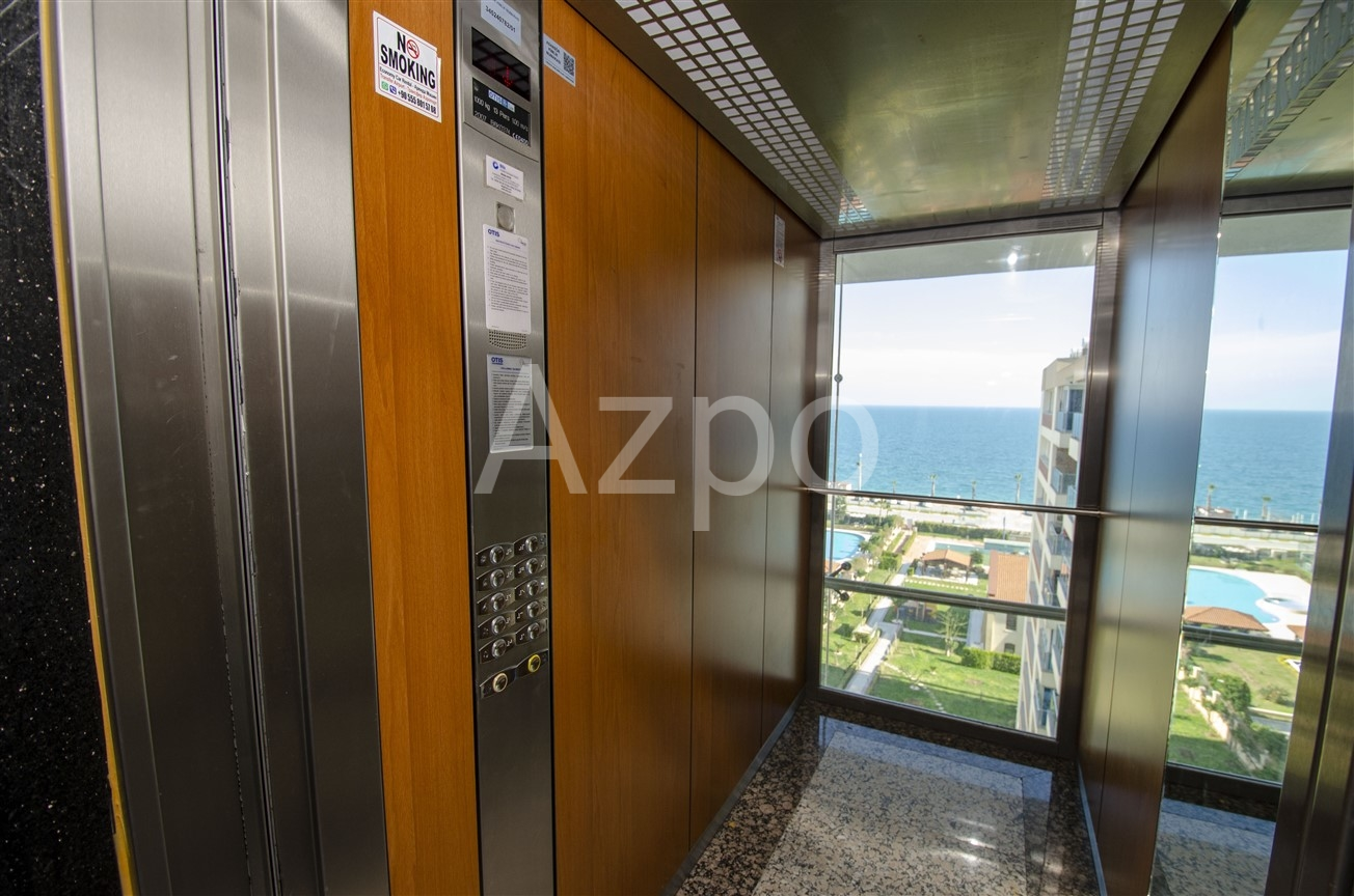 Квартира на первой линии моря в  Анталии - Фото 11