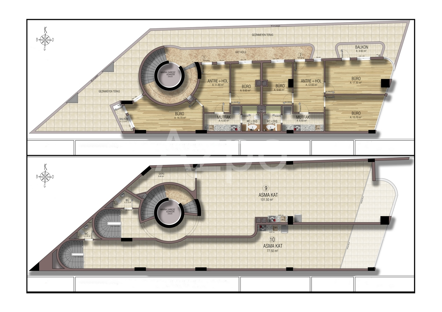 Коммерческие помещения разных планировок - Фото 5