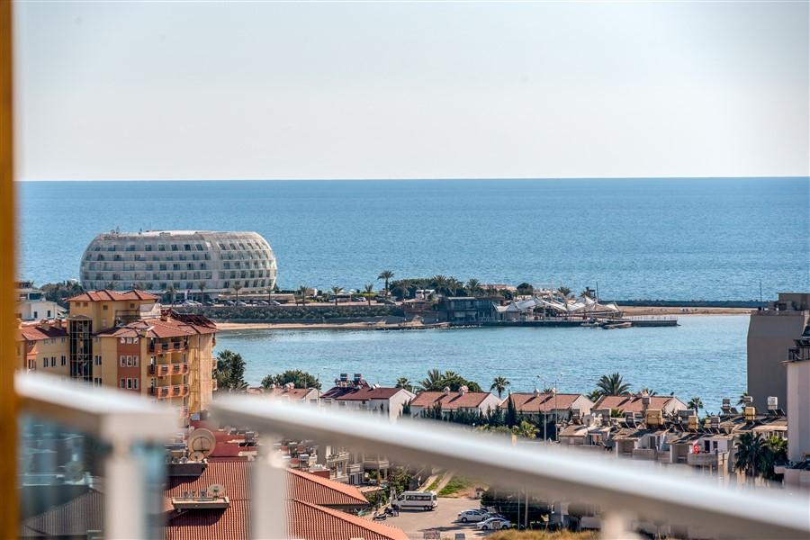 Меблированный пентхаус 4+1 с видом на море в посёлке Авсаллар - Фото 30