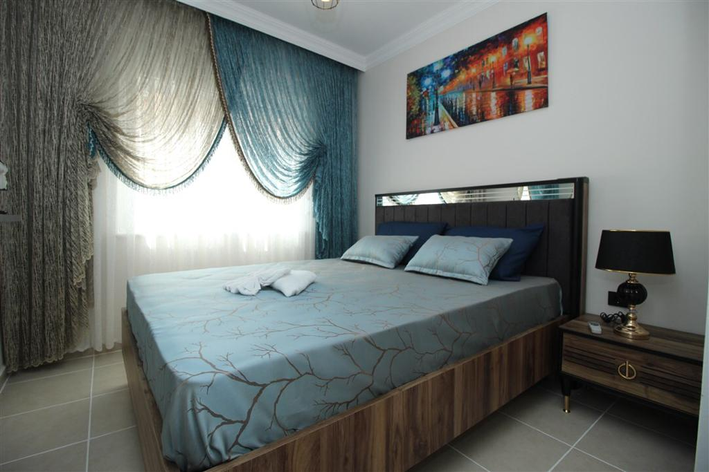 Двухкомнатная квартира с мебелью в Махмутларе - Фото 11