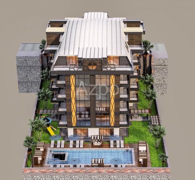 Строящийся комплекс в центре Алании с рассрочкой - Фото 6