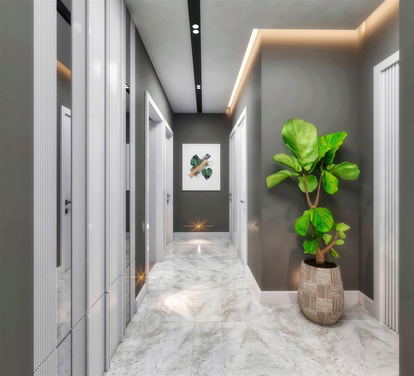 Современные квартиры в элитном комплексе Антальи - Фото 73