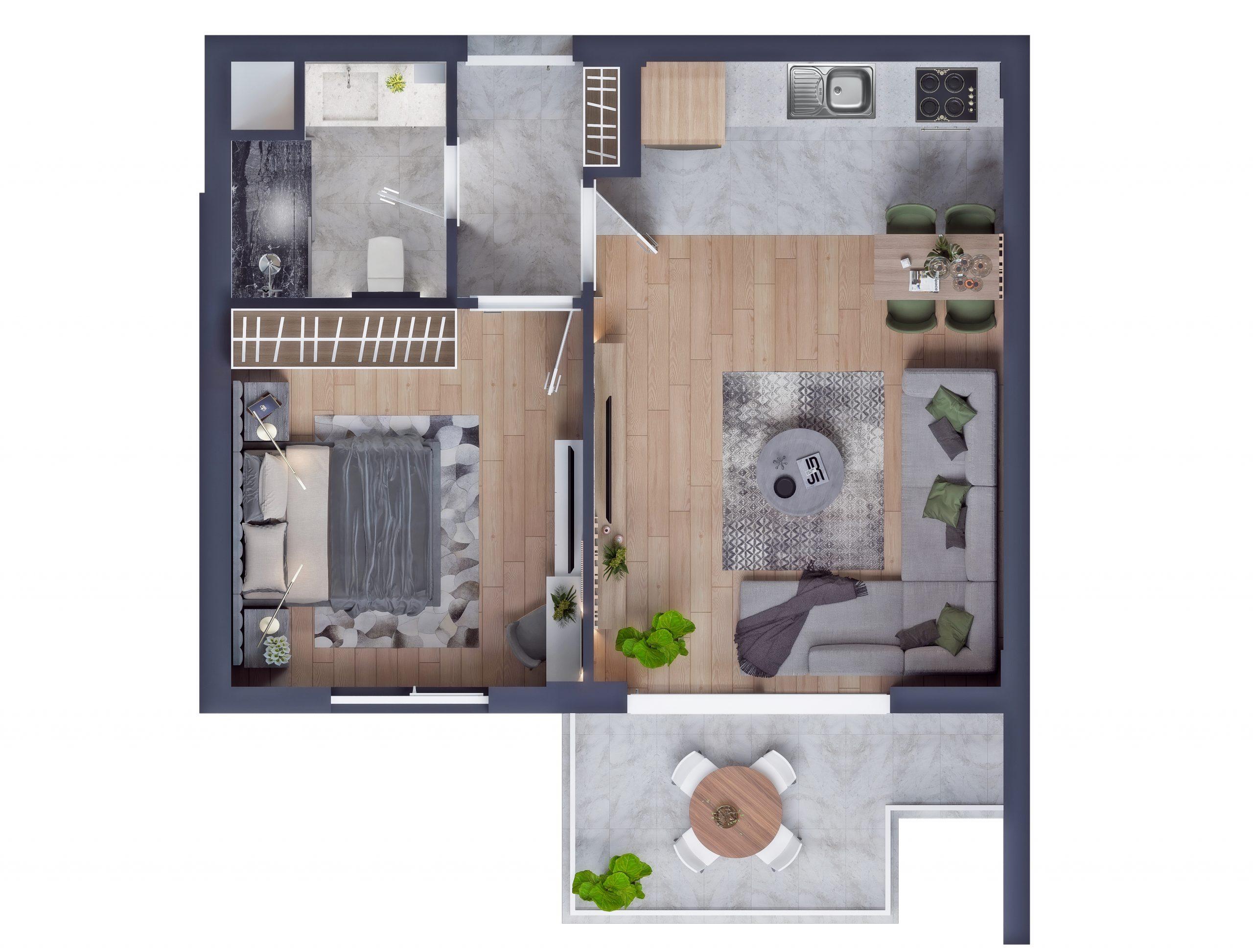 Современные квартиры в элитном комплексе Антальи - Фото 32