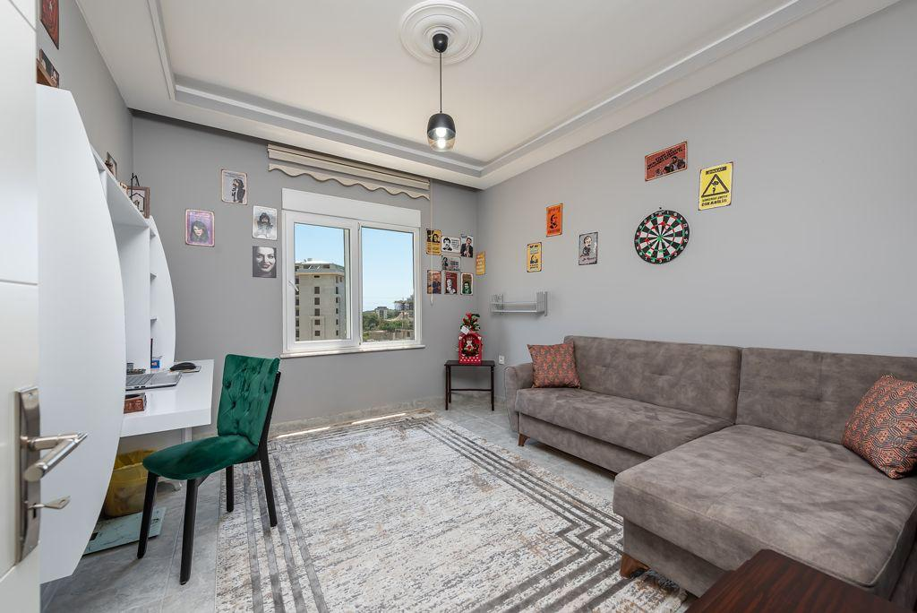 Просторная меблированная квартира 2+1 с отдельной кухней в посёлке Авсаллар - Фото 6