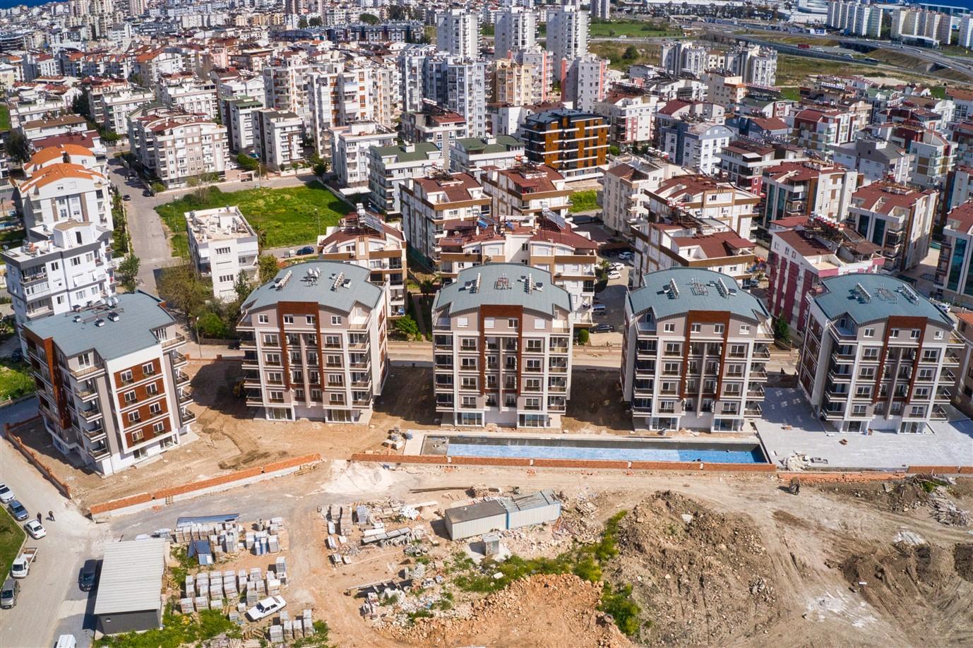 Новая двухкомнатная квартира в районе Коньяалты - Фото 22