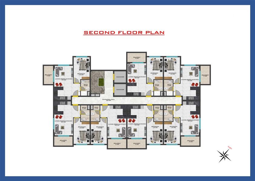 Новый проект жилого комплекса в районе Оба - Фото 37