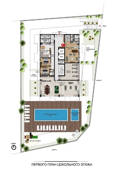 Новые квартиры разных планировок в центре Алании - Фото 10