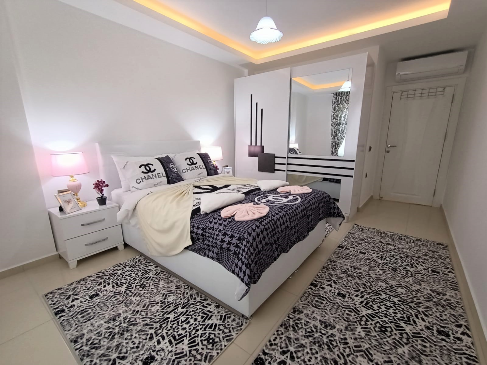 Двухкомнатная квартира с мебелью в районе Махмутлар - Фото 12