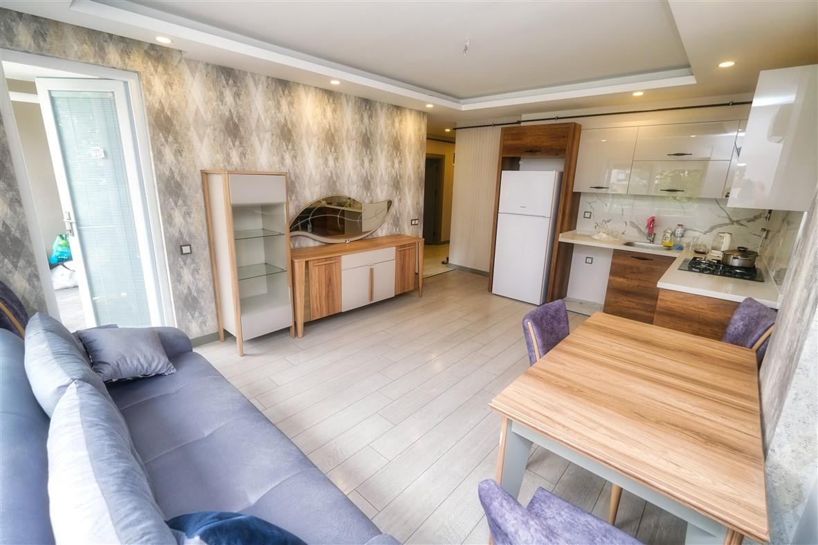Меблированная квартира 1+1 в Анталье - Фото 15