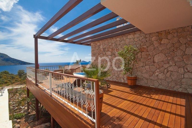 Шикарная частная вилла 4+1 с видом на море Калкан - Фото 6