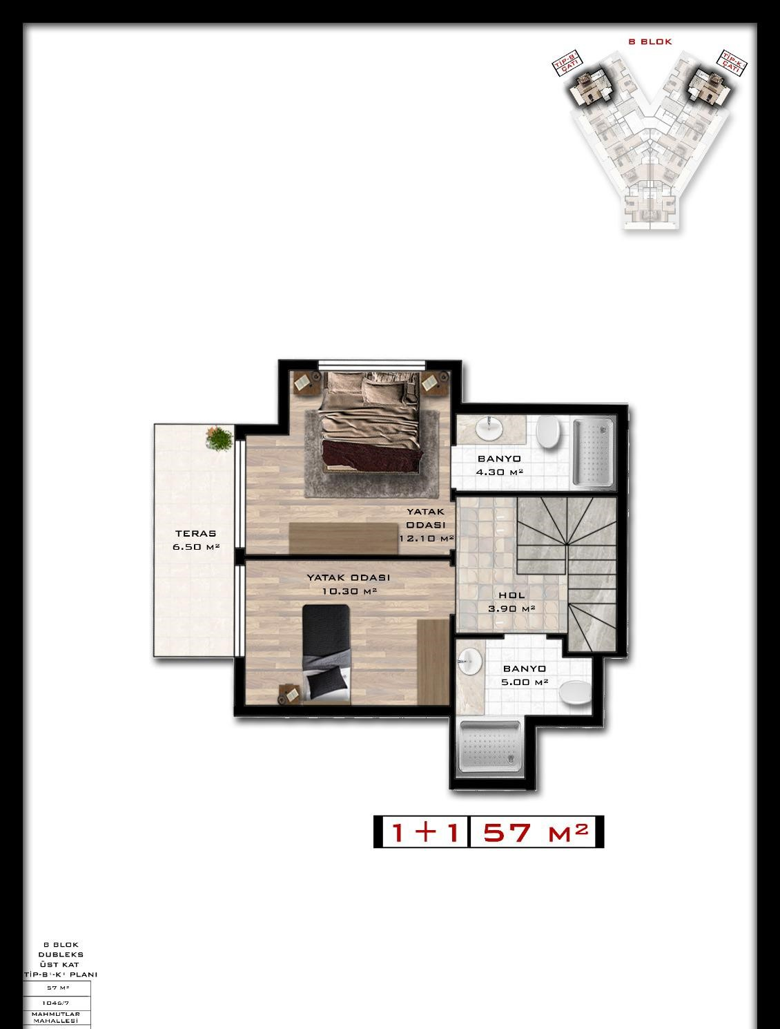 Квартиры и пентхаусы в комплексе с богатой инфраструктурой район Махмутлар - Фото 21
