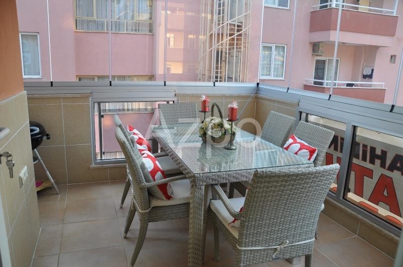 Трехкомнатная меблированная квартира в центре Аланьи - Фото 7