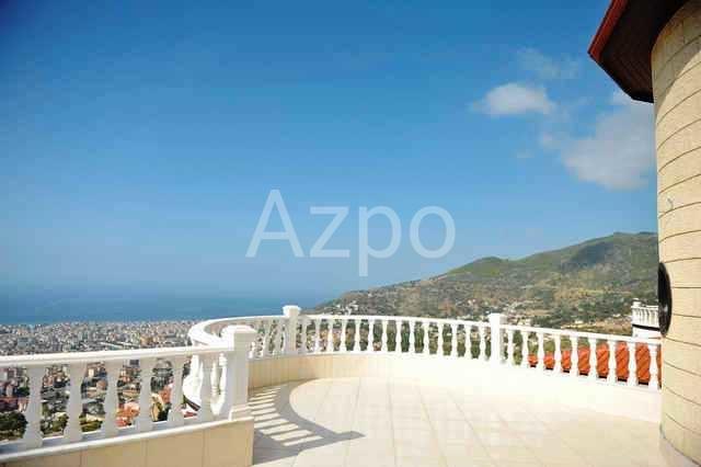 Просторная вилла с панорамным видом в Аланье - Фото 11