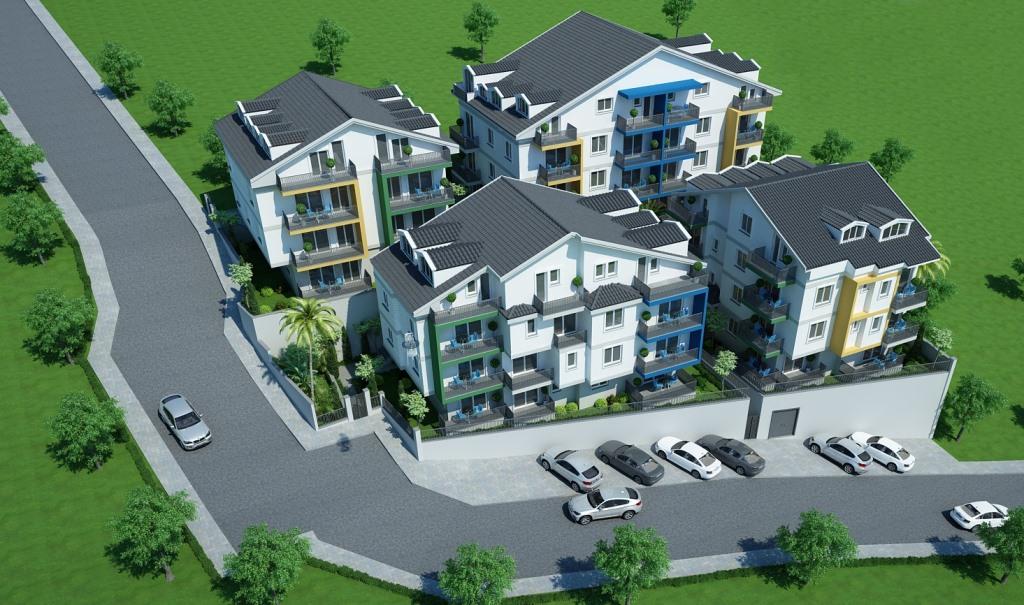 Двухкомнатные квартиры в строящемся комплексе Фетхие - Фото 12