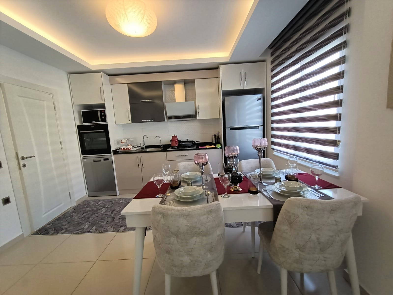 Двухкомнатная квартира с мебелью в районе Махмутлар - Фото 6