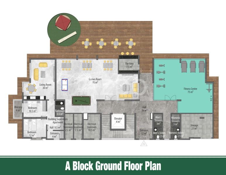 Квартиры и пентхаусы в новом комплексе Оба - Фото 12