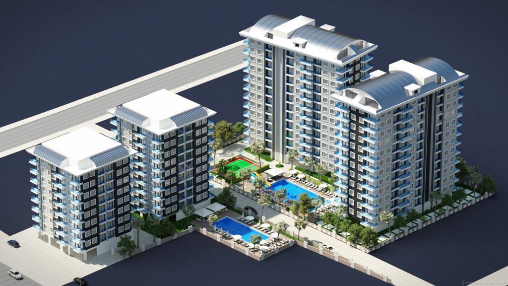 Элитные квартиры в новом проекте жилого комплекса в Махмутларе - Фото 1