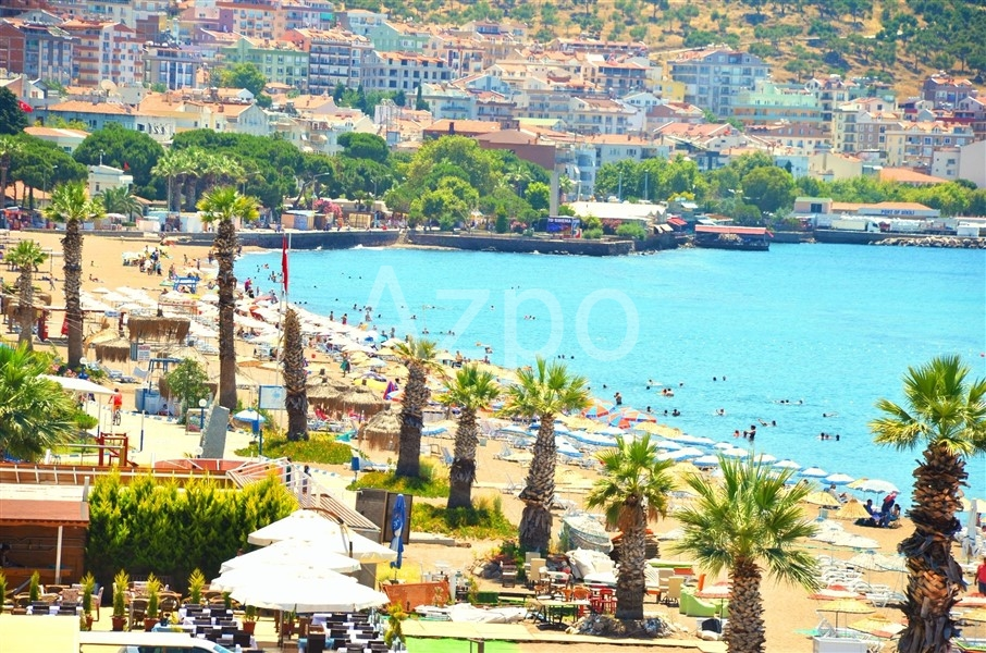 Меблированная вилла 5+1 на побережье Эгейского моря (Измир) - Фото 1
