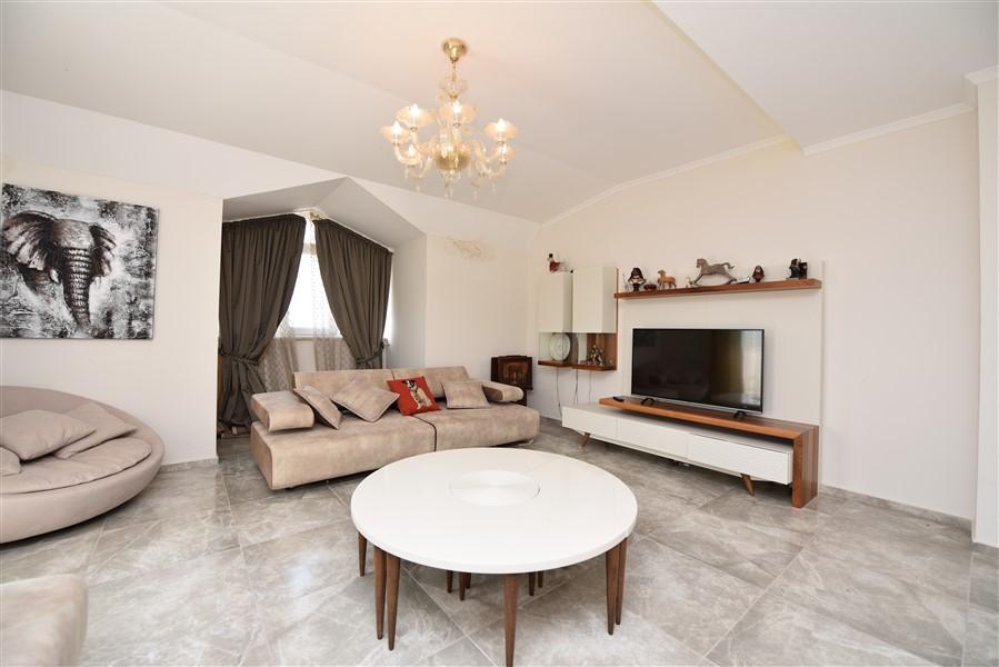 Просторный двухуровневый пентхаус 4+1 с мебелью в районе Джикджилли - Фото 29