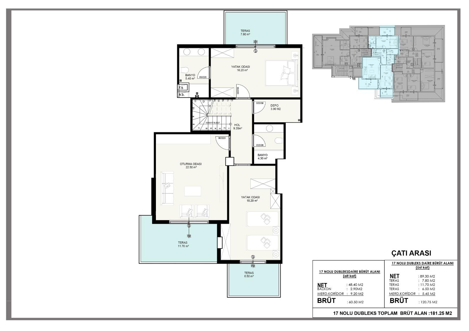 Новые квартиры в центральном районе Аланьи - Фото 12