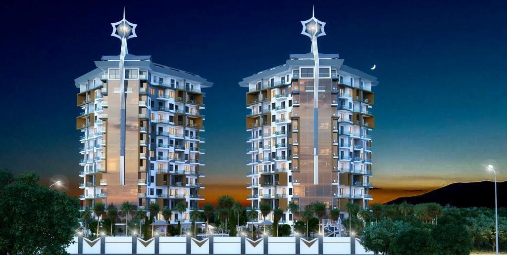Квартиры и пентхаусы в комплексе с богатой инфраструктурой район Махмутлар - Фото 4