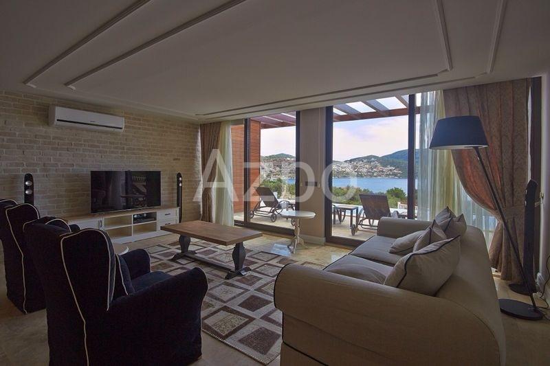 Шикарная частная вилла 4+1 с видом на море Калкан - Фото 24