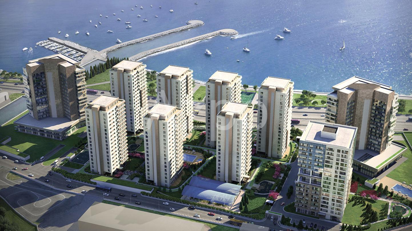 Квартиры в новом жилом комплексе у берега Мраморного моря - Фото 2