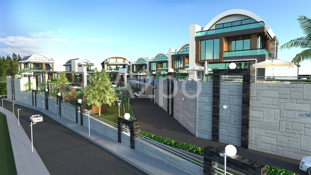 Новостройка элитных вилл в районе Каргыджак - Фото 2