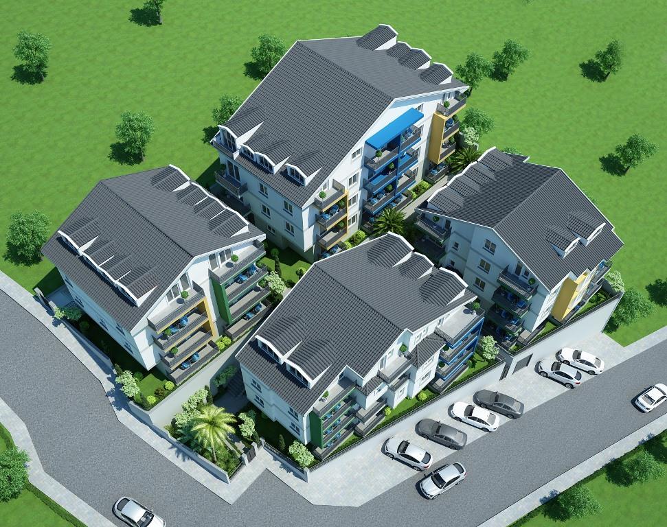 Двухкомнатные квартиры в строящемся комплексе Фетхие - Фото 4