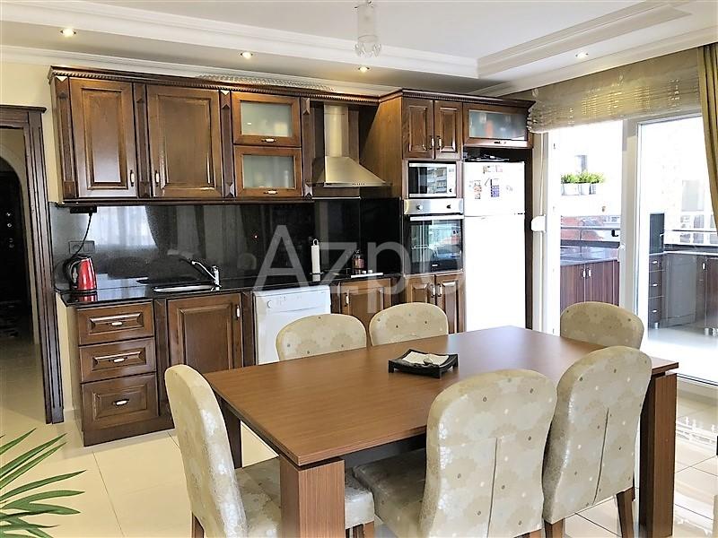 Трехкомнатная квартира с мебелью в  Махмутларе - Фото 9