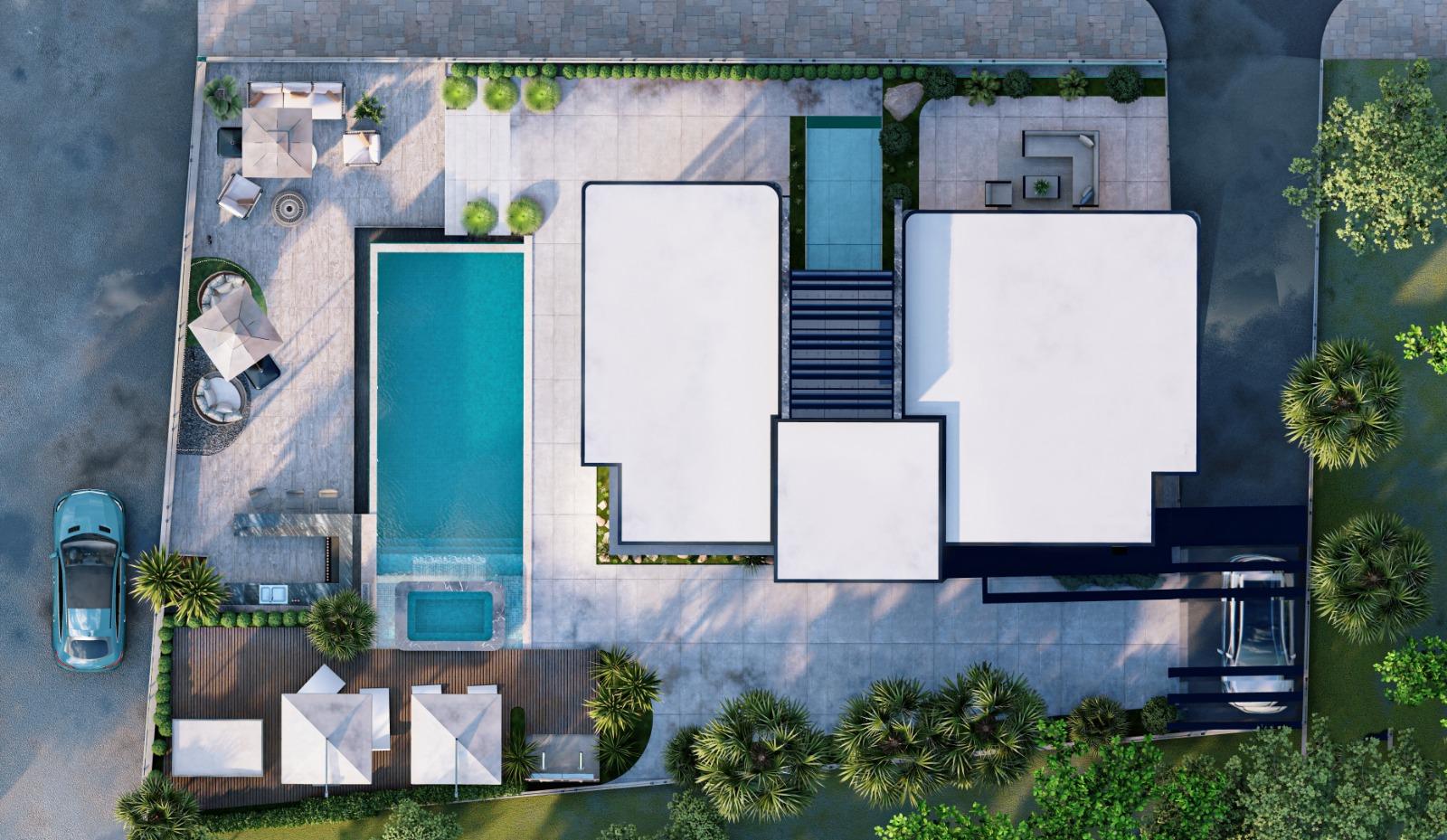Дизайнерская вилла 5+1 с видом на Средиземное море - Фото 12