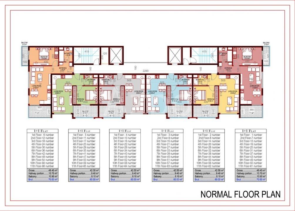 Квартиры в новом комплексе в Махмутлар - Фото 19